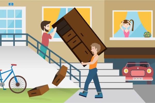 offerten von umzugsfirmen vergleichen auf was achten movu. Black Bedroom Furniture Sets. Home Design Ideas