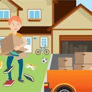 Zügeln safe and sound: Versicherung beim Umzug