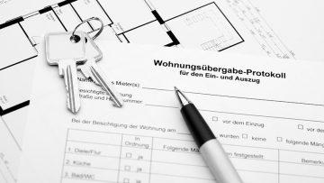 Abnahmeprotokoll für Wohnung