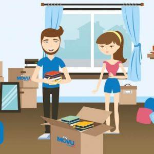 Erst denken, dann machen: Möbel und Kisten richtig packen