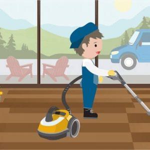 Putzteufel in Aktion: Tipps wie Sie gründlich die Wohnung reinigen können