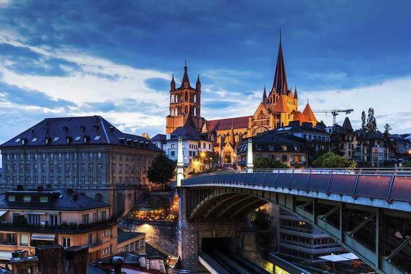 Lausanne Nachts