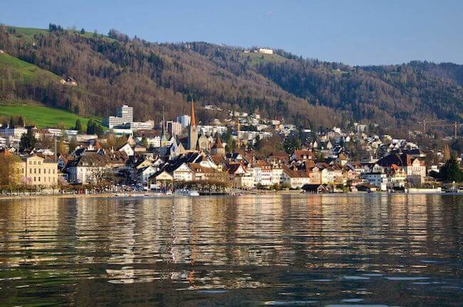 Zug, the city at the lake