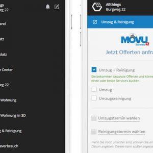Wenn zwei PropTechs kooperieren: Umzugsplattform MOVU wird in Immobilien-Service-App Allthings integriert