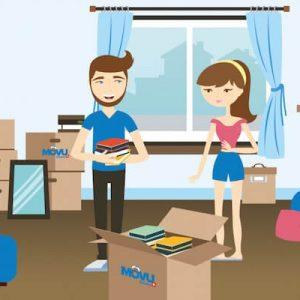Réfléchissez avant d'agir : emballez meubles et cartons correctement