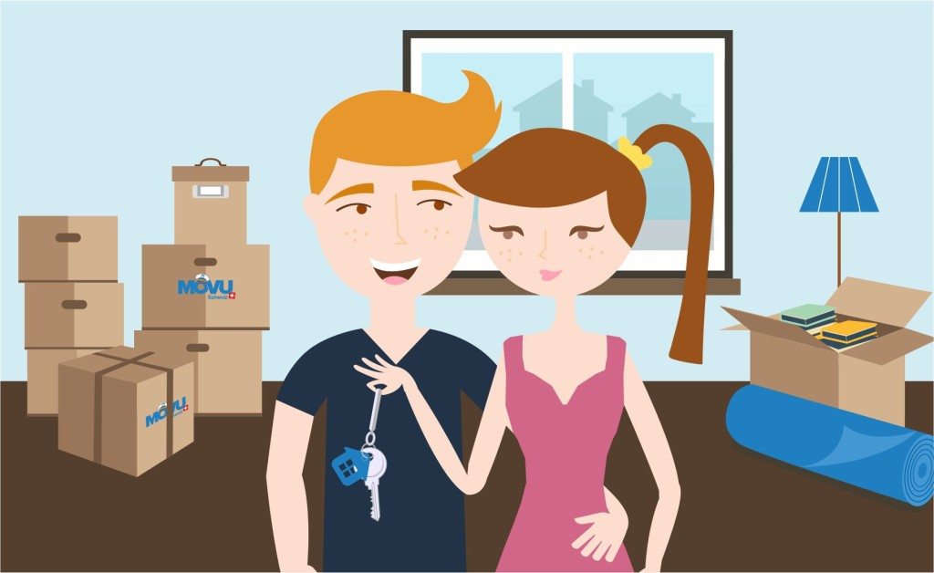 moving in together - the first apartment