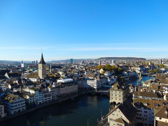 Umzug in die schöne Stadt Zürich