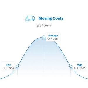 How much does it cost to move with a professional moving company?