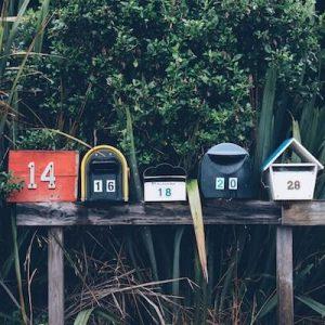 Suivi de courrier et réenregistrement dans une commune ou un canton