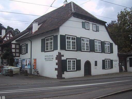 Spielzeugmuseum in Riehen bei Basel.